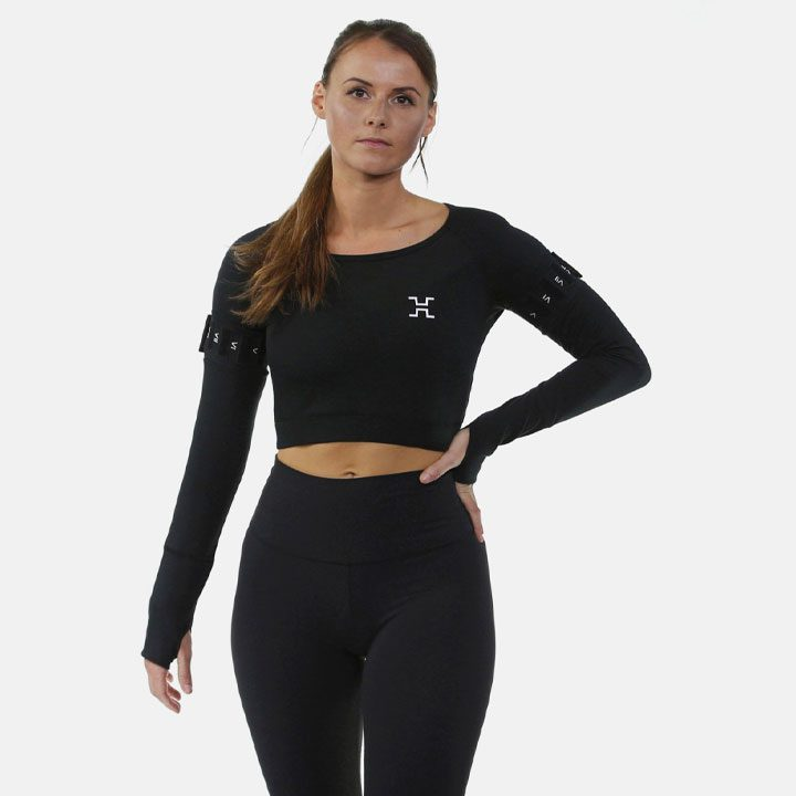 hytro shop | elevate-performance-crop-top